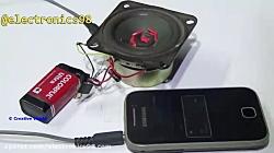 ساخت تقویت کننده صدا با استفاده از Mosfet