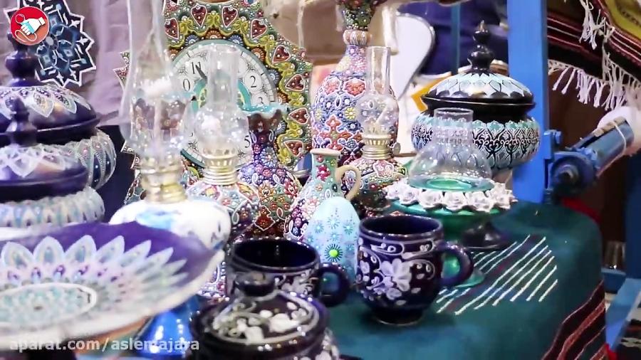 غرفه استان البرز در دوازدهمین نمایشگاه گردشگری و صنایع وابسته