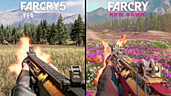 Far Cry: New Dawn vs Far Cry 5 | مقایسه