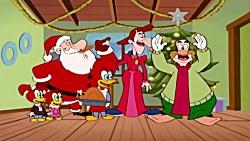 کارتون وودی دارکوبه - گلچین کریسمس