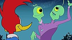 وودی دارکوبه - این داستان: وودی و بیگانه های پرنده دزد