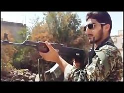 ساعاتی قبل از شهادت مدافع حرم؛شهید رسول پورمراد در سوریه