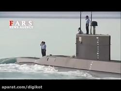 رونمایی از زیردریایی ک...