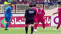 خلاصه بازی تراکتورسازی و استقلال - هفته هجدهم لیگ برتر ایران