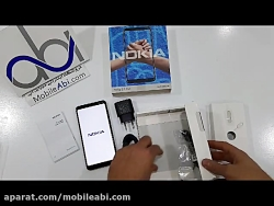 جعبه گشایی گوشی Nokia 3.1 Plus - موبایل آبی