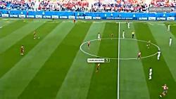 فوتبال ایران مراکش در ر...