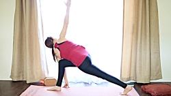 ورزش یوگا در خانه - یوگا برای نشاط - روز 12