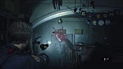 گیم پلی از بازی رزیدنت اویل 2 ( Resident Evil 2 Remake )