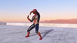 انیمیشن کوتاه رقص مرد عنکبوتی زیبا و جالب