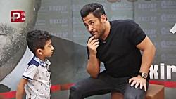 رقص و غافلگیری بچه معروف ترین پسر ایران در بک استیج کنسرت محمدرضا گلزار