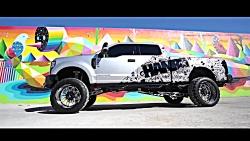 هنر نقاشی و حکاکی روی بدنه خودرو  Ford F250