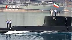 رونمایی از جدیدترین زیردریایی ایران  ساخت «فاتح» با بیش از ۴۱۲ هزار قطعه