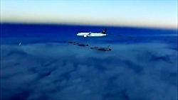 اسکورت هواپیمای بن سلمان توسط ۶ جنگنده پاکستانی