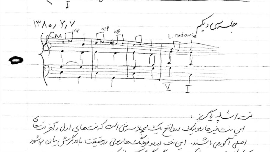 دانلود جزوه هارمونی پراتیک نیما فریدونی مدرس علی رادمان