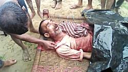 مرد هندی پس از حمله ببر