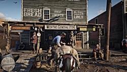 گیم پلی رسمی بازی Red Dead Redemption 2 ( رد دد ردمشن 2 )