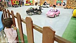 ساخت کلیپ کودک در شهربازی