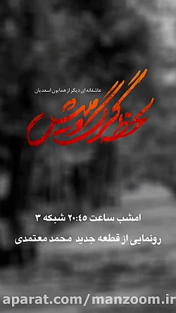 پائیز؛ قطعه جدید محمد معتمدی برای لحظه گرگ و میش
