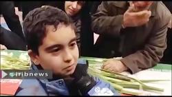 حرف دل فرزند شهید جنایت تروریستی زاهدان با پیکر بابا | چرا تنهام گذاشتی ؟!