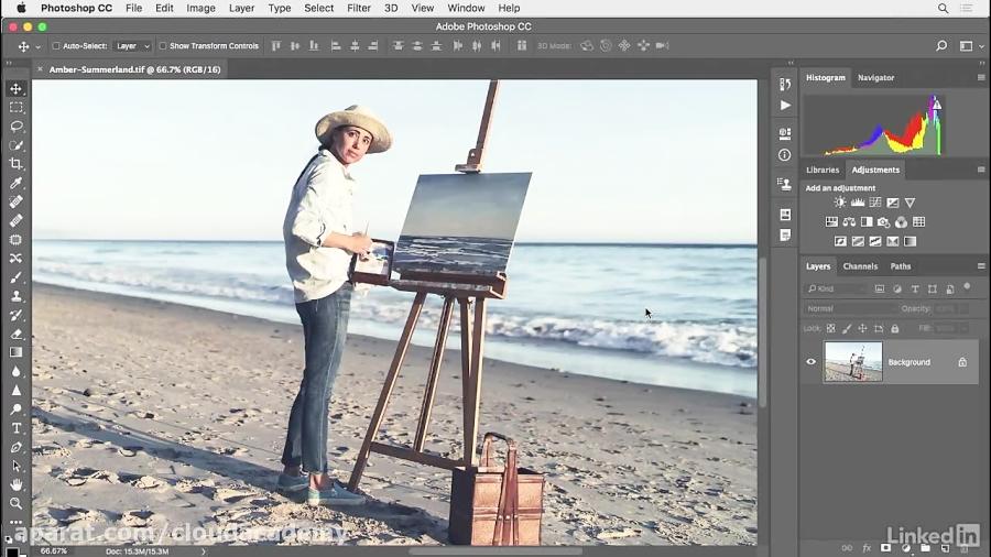 دانلود آموزش فتوشاپ - افزایش عکس با استفاده از Camera Raw...