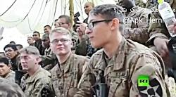 خوردن عقرب و خوردن زهر مار توسط سربازان آمریکایی