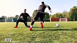100 تکنیک ناب فوتبال