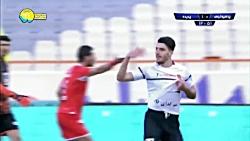 خلاصه و ضربات پنالتی بازی پرسپولیس و پدیده - یک چهارم نهایی جام حذفی ایران