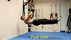 ورزش تی آر ایکس در خانه - آموزش حرکات قدرتی و کششی trx برای فرم دهی بدن