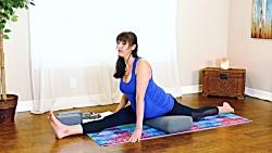 ورزش یوگا در خانه - یوگای بهبود درد پشت در بارداری