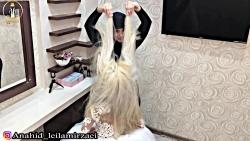 عروس و مدل موی باز شیک