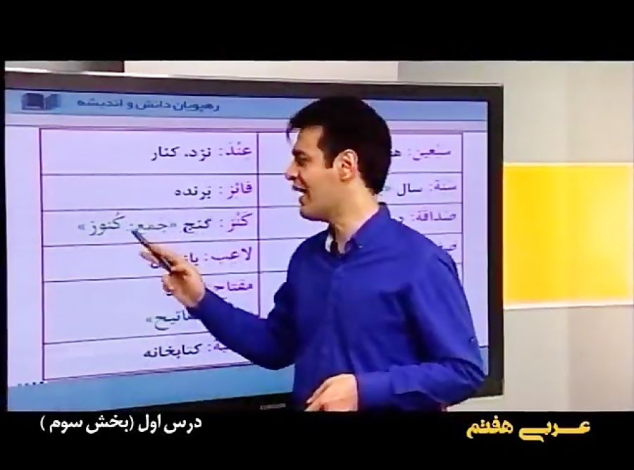 آموزش جامع درس اول عربی پایه هفتم