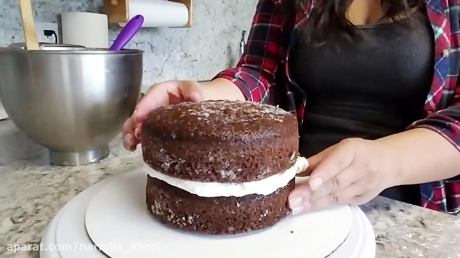 تزیین کیک روزمادر-لوازم قنادی نارمیلا
