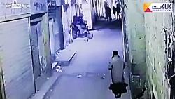 لحظه انفجار انتحاری در ...
