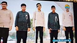 اجرای بسیار زیبای گروه سرود پیروان مهدی عجل الله کانون منتظران ظهور مسجد صاحب ال