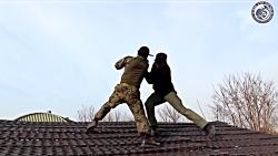 آموزش چاقوی نیروهای ویژه ارتش کره جنوبی