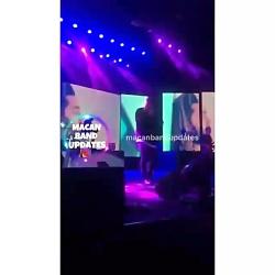 ماکان بند اجرای آهنگ حس عجیب برای اولین بار در برج میلاد