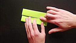 اوریگامی جعبه - آموزش ساخت جعبه کاغذی - کاردستی