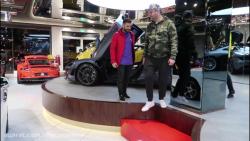 مسی ایرانی در نمایشگاه سوپر لوکس ماشین در دبی