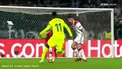المپیک لیون 0-0 بارسلونا