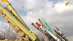 فیلمی جدید از نمایش پهپادها و موشک های جدید در نمایشگاه اقتدار نیروهای مسلح