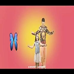 بچه ها مژده - عمو امید - موزیک ویدیو جدید - پروانه