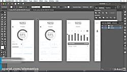 آموزش illustrator - تبدیل آ...