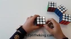 حل سریع مکعب روبیک