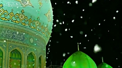 کلیپ عاشقانه امام زمان با آهنگ برف ...