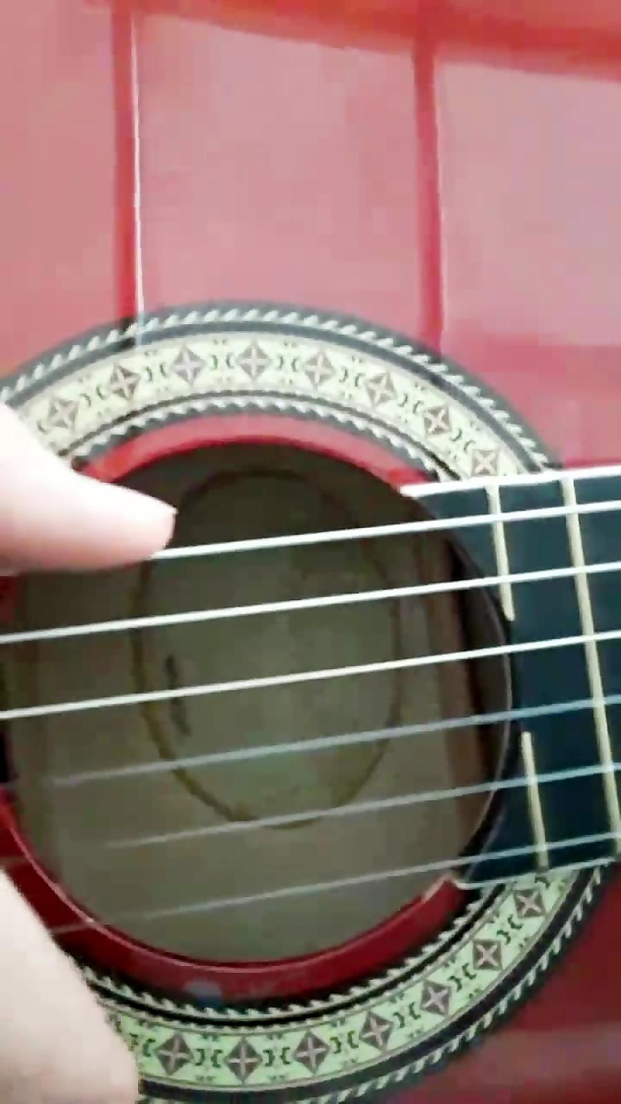 اموزش ریتم 6/8ساده گیتار کلاسیک
