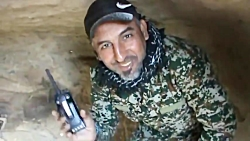 تصاویری از مخفیگاه های هسته های مخفی تروریست های داعش در بیابان های عراق