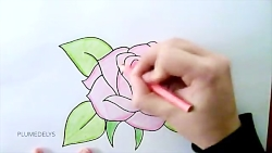DRAWING A ROSE