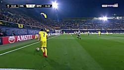 خلاصه بازی ویارئال - اسپورتینگ - لیگ اروپا