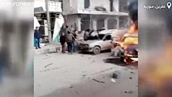انفجار دو خودرو بمب گذا...