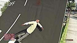 بهترین صحنه های خنده دار GTA V قسمت 3